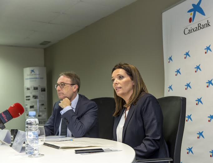 Ana Diez y Marc Simón, La Caixa