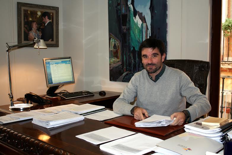 Eneko Larrarte, alcalde de Tudela