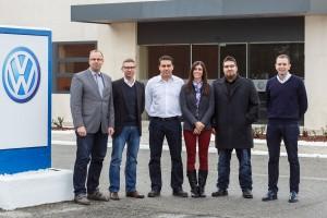 Volkwagen Innovación - Equipo ganador de Navarra