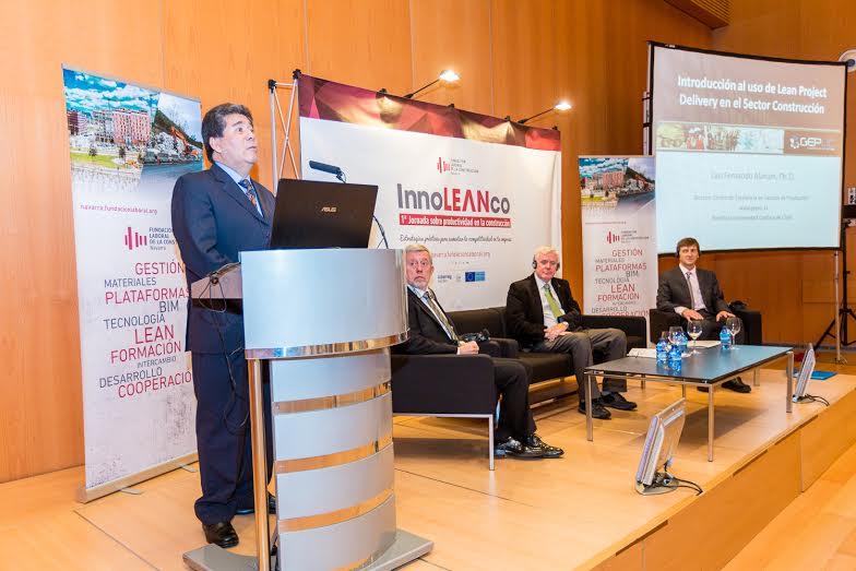 De Izquierda a derecha: Luis Fernando Alarcón, Juan Las Navas, Derek Drysdale y Chris Wearne