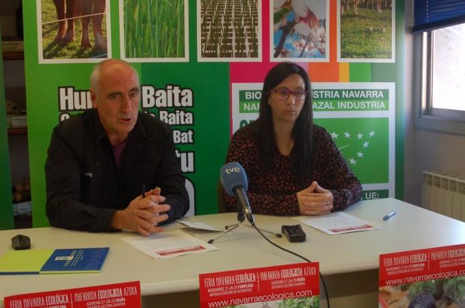 Un total de 60 empresas participan en la I Feria Ecológica en Navarra