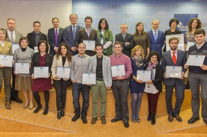 Tasubinsa logra el máximo galardón en los VII Premio Azul de Mutua Navarra