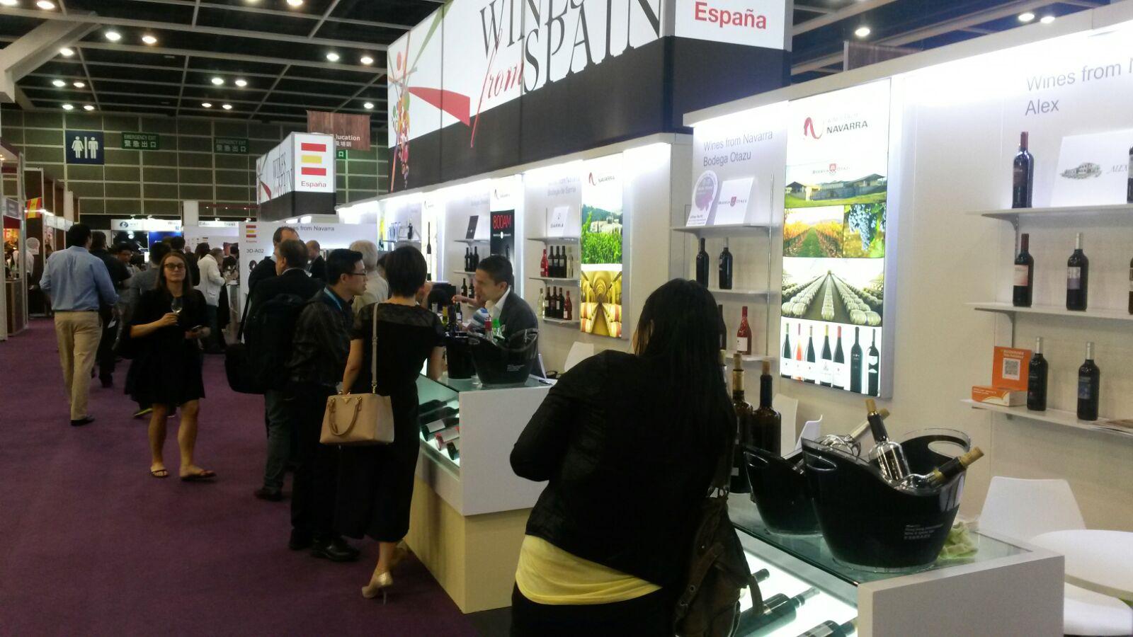 Vinos navarros en Hong Kong