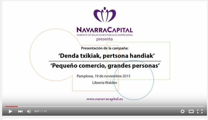 campaña Navidad Comercio Gobierno de Navarra