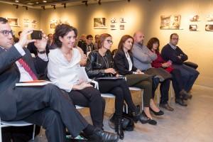 María Chivite, líder del PSN, entre los invitados a la presentación del libro de José Carlos Díez