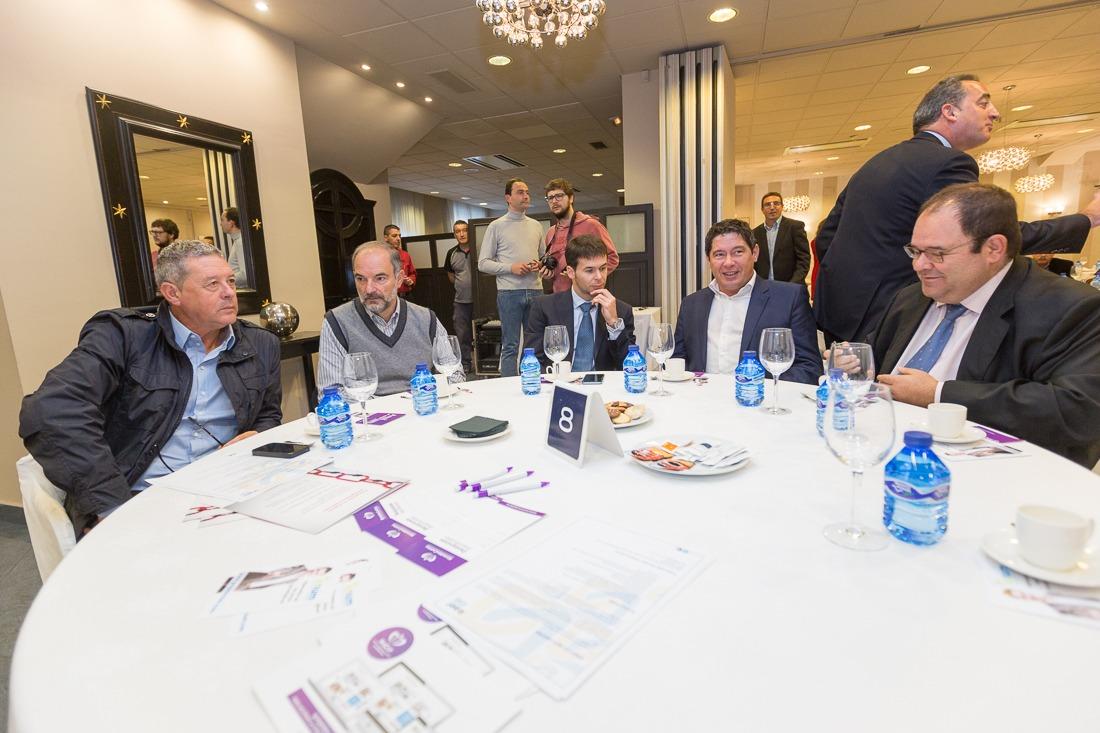 Desayuno Empresarial con Manu Ayerdi en Tudela
