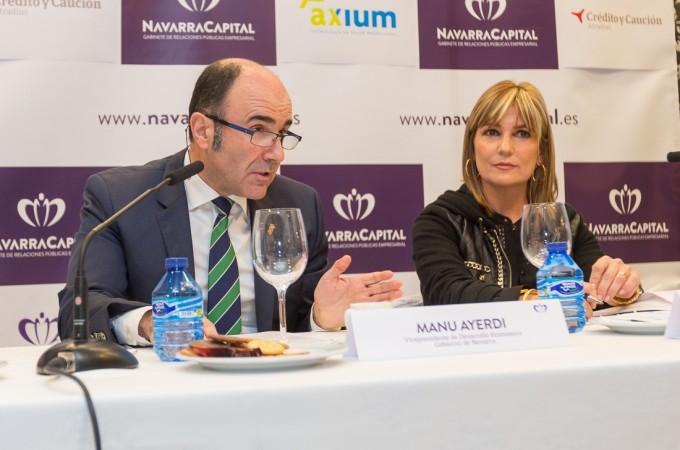 """Manu Ayerdi sobre el Canal de Navarra: """"Déjennos tiempo para valorar otras posibilidades"""""""