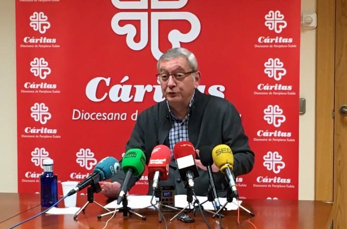 13.660 personas han sido atendidas por Cáritas Navarra en 2015, un 15% menos que el año pasado