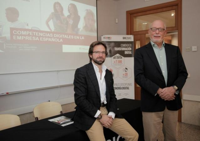 Enrique Benayas y Joost van Nispen -ICEMD-
