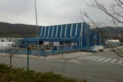Imagen exterior de la factoría de Bacaicoa en Oricain (archivo)
