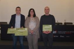 Ganadores InIciate junto con Pilar Irigoien