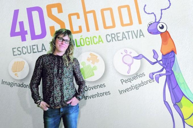 4DSchool, tecnología para potenciar la creatividad de los niños