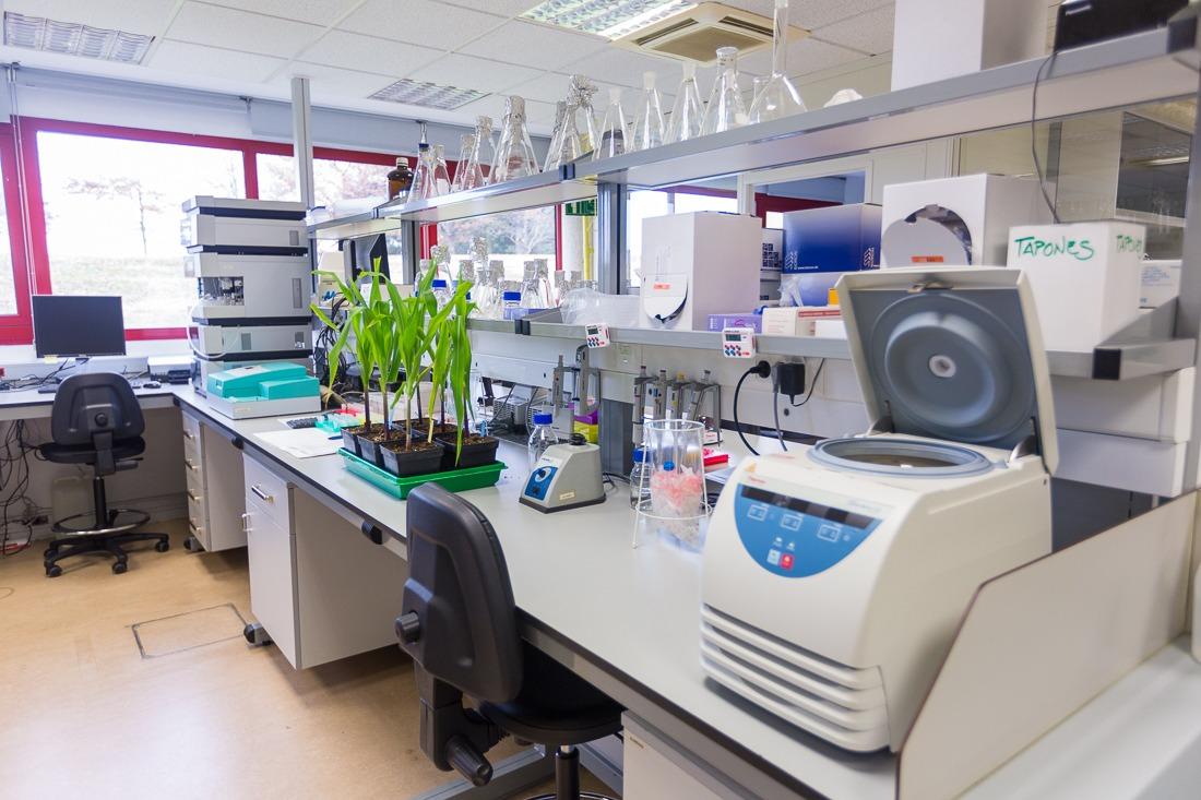 Instalaciones de IDEN Biotechnology en la Asociación de la Industria Navarra, AIN.