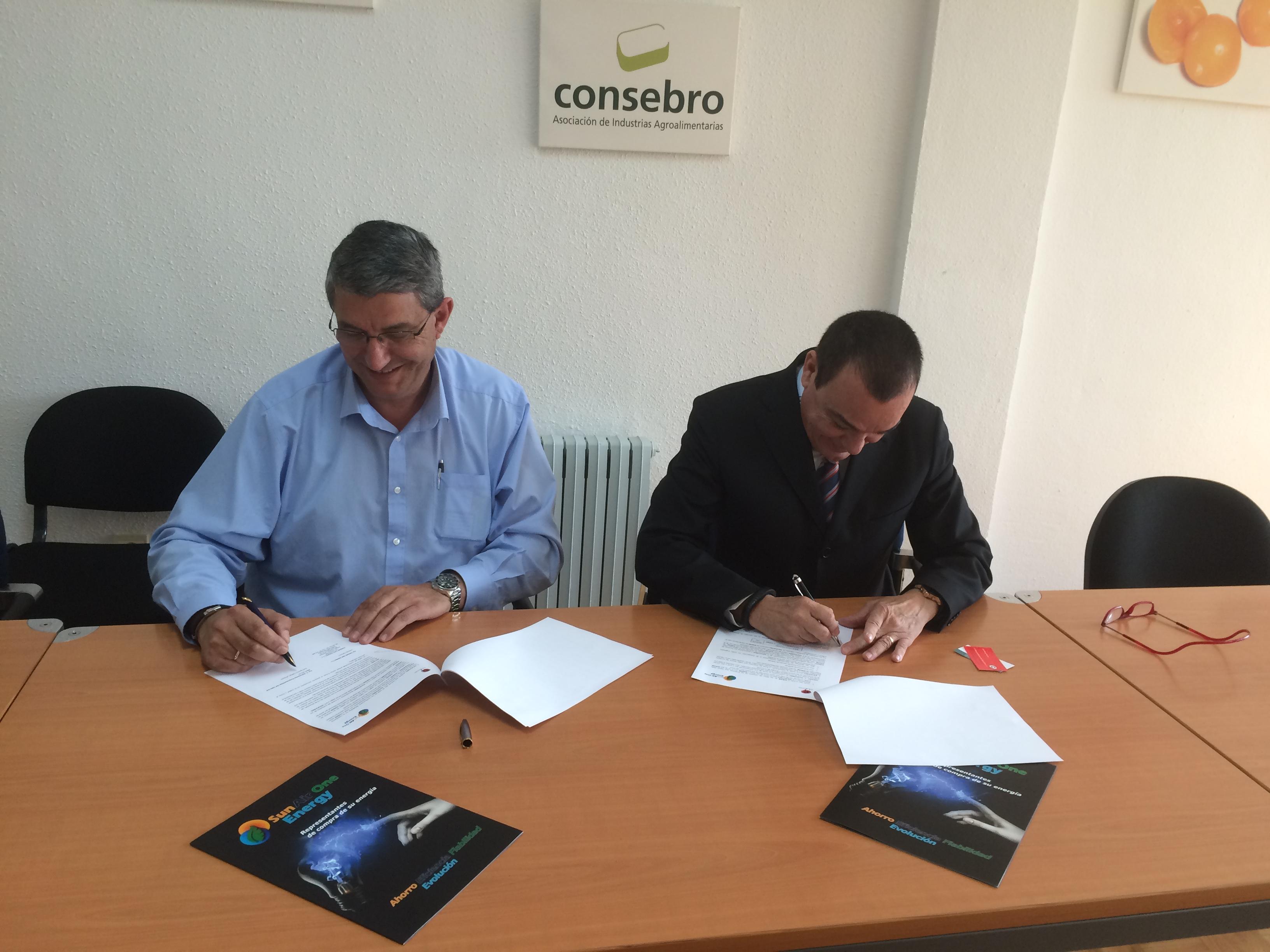 Acuerdo CONSEBRO - SUN AIR Energy