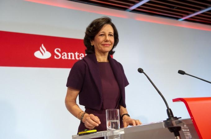 El beneficio del Banco Santander crece un 2,6% en 2015 hasta los 5.966 millones de euros