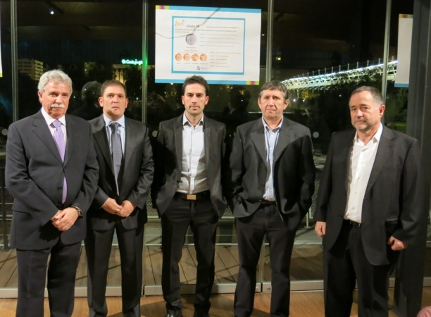 Pedro Irisarri y Ion Irañeta de Grupo 3e
