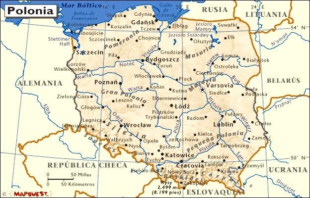 polonia auschwitz mapa Polonia, un país con muchas posibilidades comerciales polonia auschwitz mapa