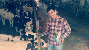 Juanma Garro Lacturale, vacas