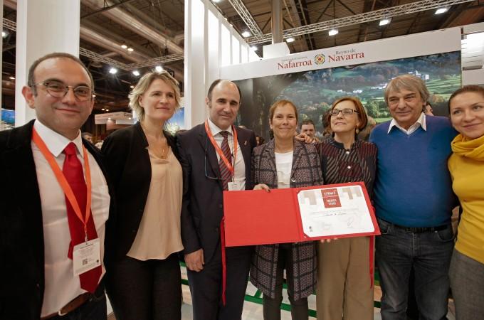 Crónica: Turismo de Navarra, premio en FITUR 2016