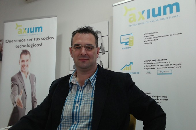 """Grupo Axium, socio certificado en Navarra de """"AHORA Freeware"""""""