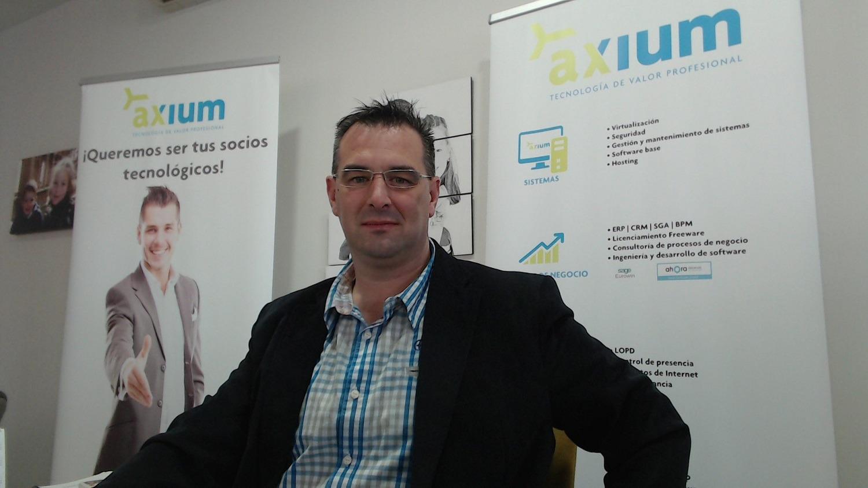 Rafa Loscos, gerente de Grupo Axium