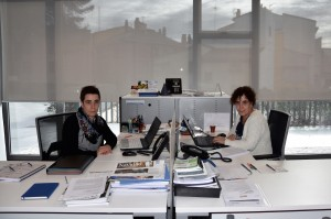 Cristina e Irache Roa, Teder, Estella