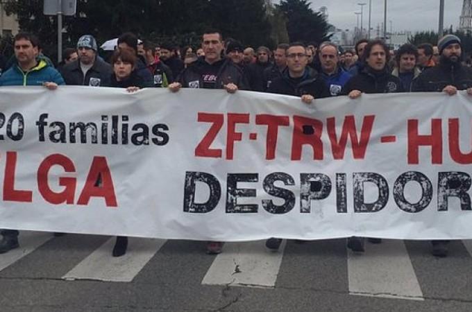 """Trabajadores de TRW reclaman la retirada de un ERE que la dirección considera """"absolutamente necesario"""""""