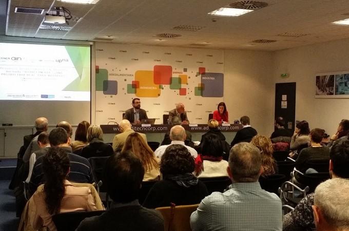 Un seminario analiza en Pamplona la viabilidad de una planta de Biorrefinería en Tafalla