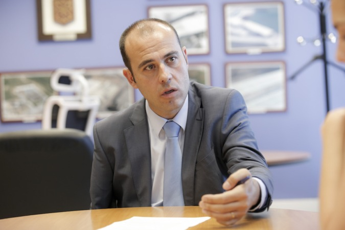 Javier Lagunas, director gerente de Tasubinsa