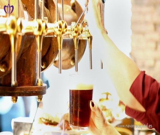 Cerveza artesanal navarra