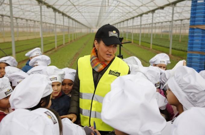 Florette reúne a 150 niños de la Ribera de Navarra para promover una alimentación saludable