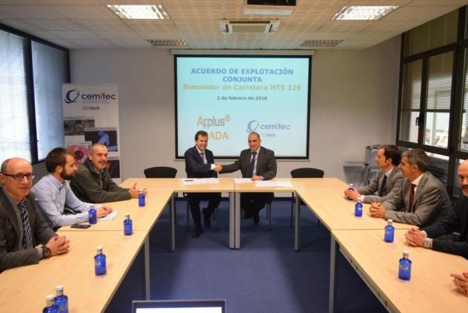 Foto Acuerdo CEMITEC Applus+ Idiada
