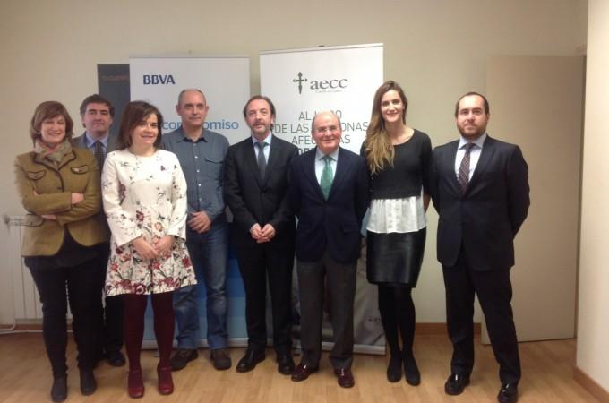 Empleados del BBVA apoyan en Navarra proyectos solidarios de la AECC, CIMA y Fundación Miguel Eza