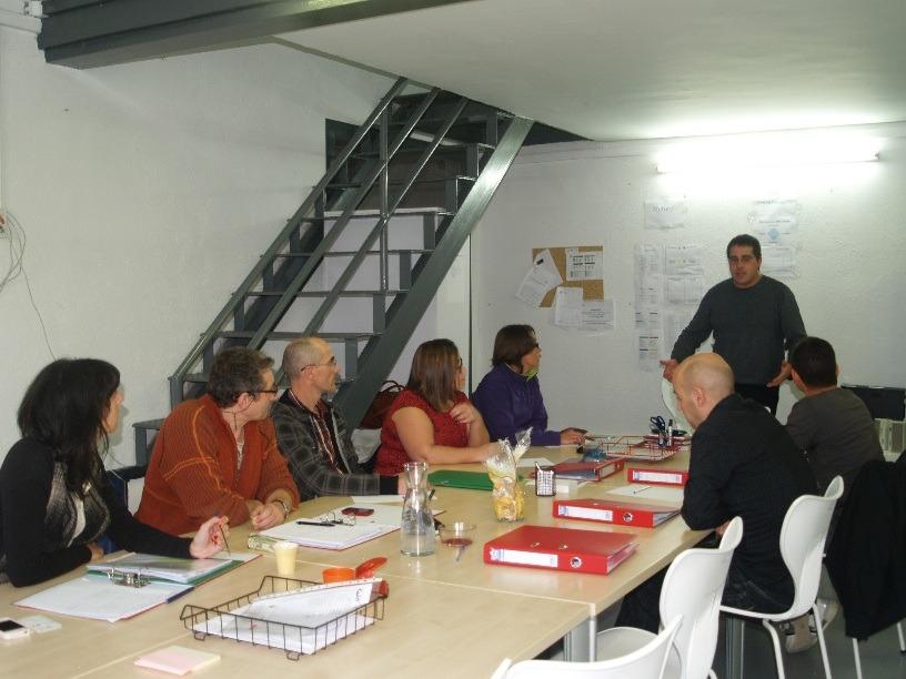 Taller de emprendedores en ANEL
