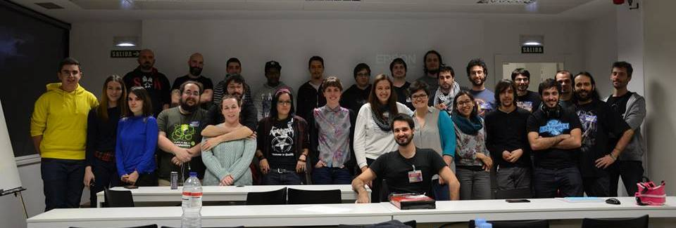 Participantes en la Global Game Jam - Pamplona