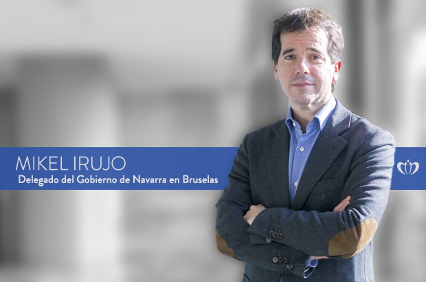 Mikel Irujo - Delegado del Gobierno de Navarra en Bruselas