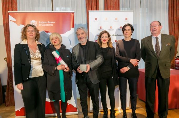 La Academia Navarra de Gastronomía entrega a 'La Manduca de Azagra'  su Premio Gastronómico 2015