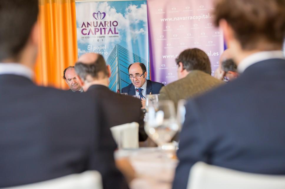 Presentación del Anuario Capital en Madrid