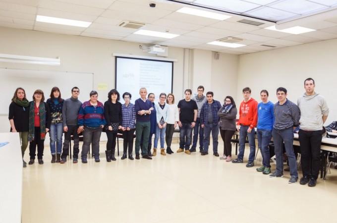 Fundación Caja Navarra y la UPNA impulsan la integración laboral de 15 personas con discapacidad intelectual