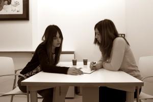 Mónica y Sara de AiLE Gabinete de Terapia