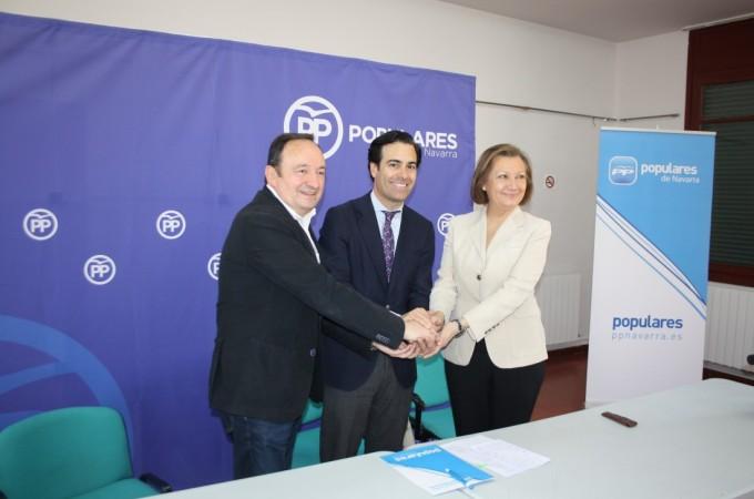 """El PP plantea un """"lobby reivindicativo"""" para poner en valor """"el potencial económico del Valle del Ebro"""""""