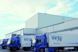 Imagen exterior de la zona de logística de Ultracongelados Virto