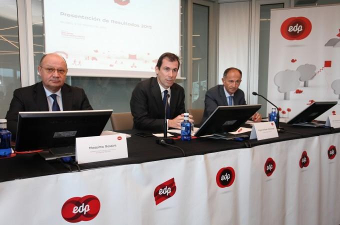 EDP, con más de 7.000 clientes de luz y 5.000 de gas en Navarra, cerró 2015 con 100 millones de euros de beneficios