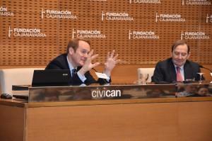 F. Caja Navarra y F. Botín, Talento solidario