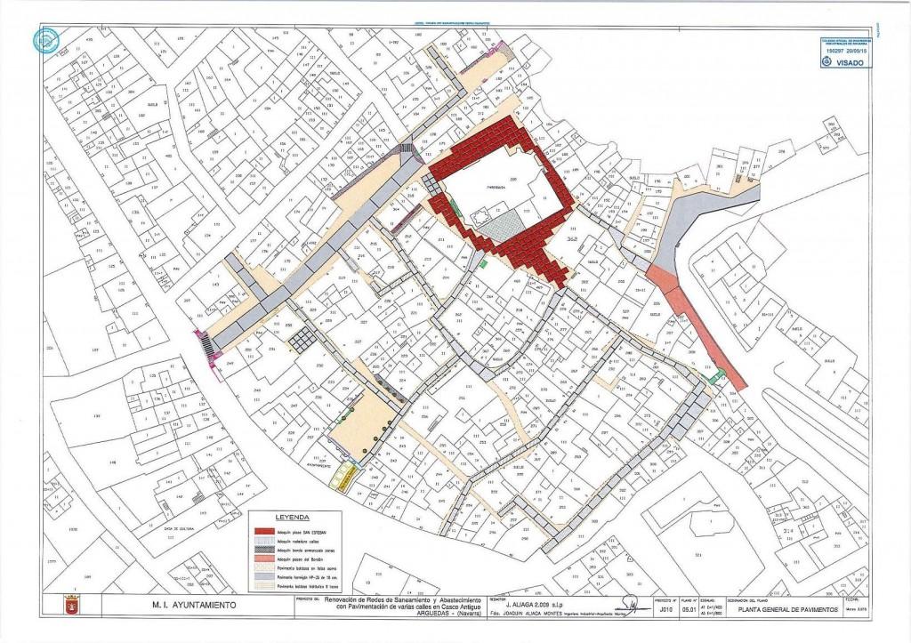 plano Arguedas (nuevo pavimento) 2016