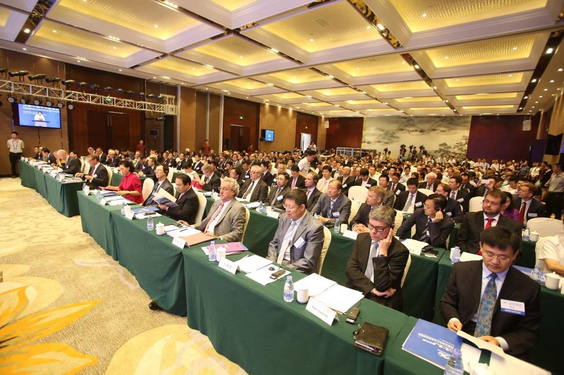 Reunión empresarial China-España.