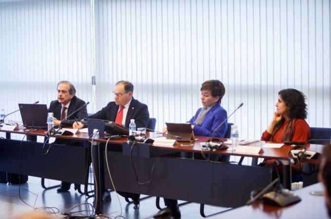 El Consejo Social de la UPNA recibe a la Cátedra Inditex-UDC de Responsabilidad Social
