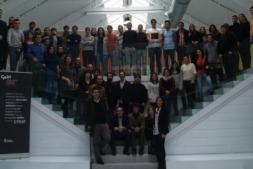 Foto de grupo de emprendedores en CEIN.