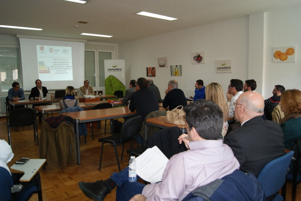 Reunión CONSEBRO Eficiencia Energética