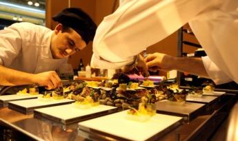 Una preparación de una edición pasada del Salón Gourmet
